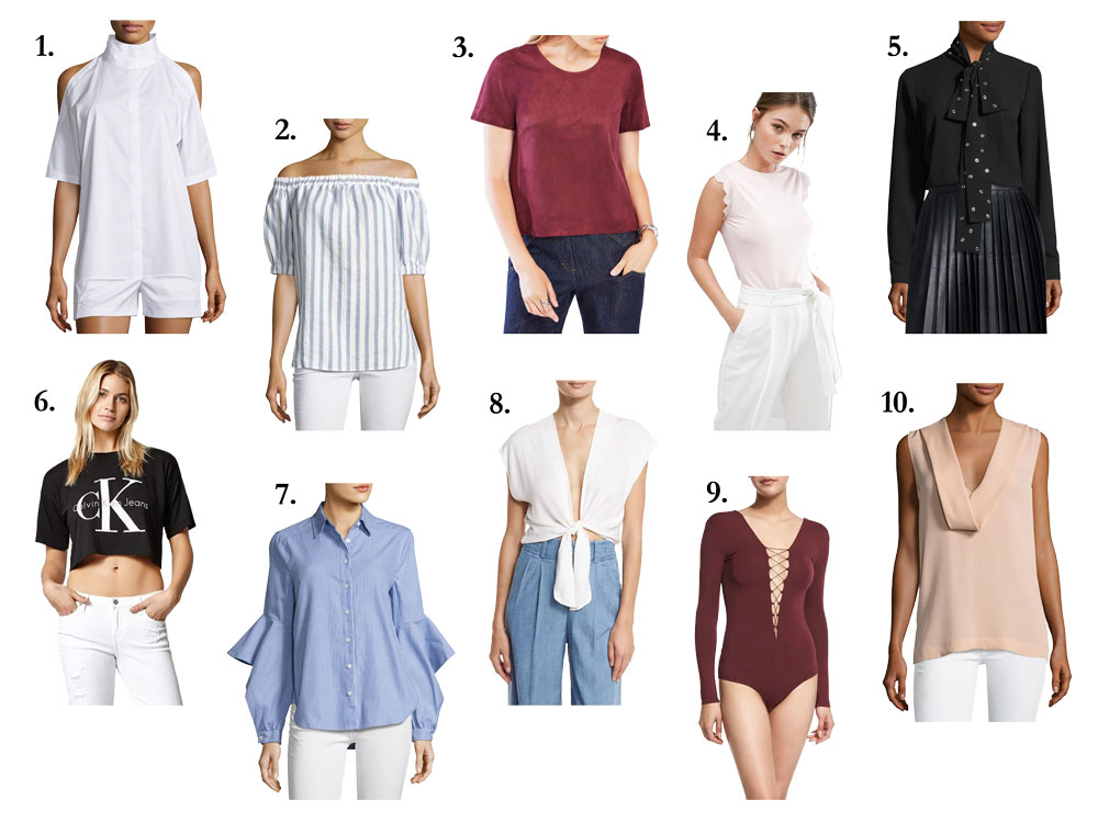 Stylish Designer Tops Under $100