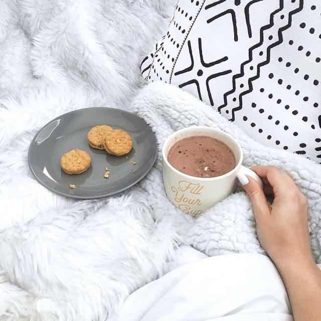 Hot chocolate and a healthy dose of dossidos for whenhellip