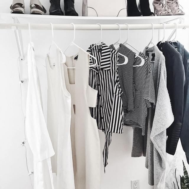 Its closet organizing day! Sometimes I cycle out what goeshellip