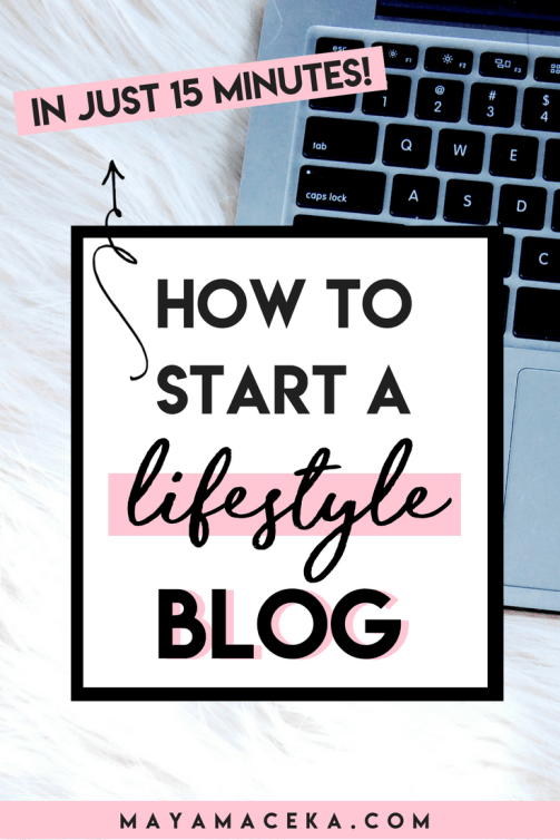 How to Start a Lifestyle Blog | Want to start a profitable blog quickly and without spending too much money? This guide for entrepreneurs and new bloggers to help you set up a successful blog step-by-step and then make money from your blog. Plus get your free blogging printables and exclusive content! Click through to read all about it.