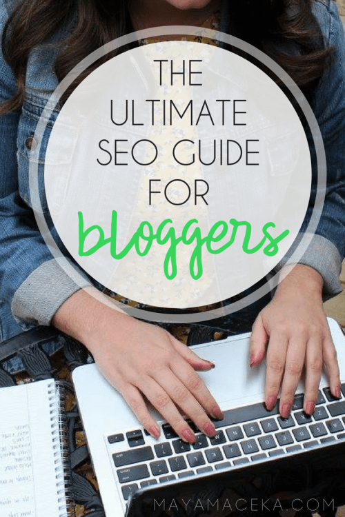 girl learning how to use seo for blog