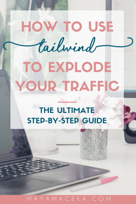 Learn how to use Tailwind to explode your blog traffic! In this tutorial, I explain how to use this Pinterest scheduling tool step-by-step. Click through to get a free trial and a list of over 100 Pinterest group boards for bloggers! #socialmedia #tailwind