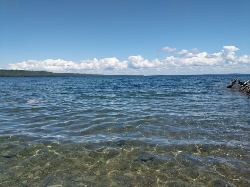 Swimming in Manitoulin Island