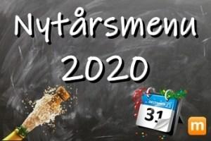 Nytårsmenu 2020