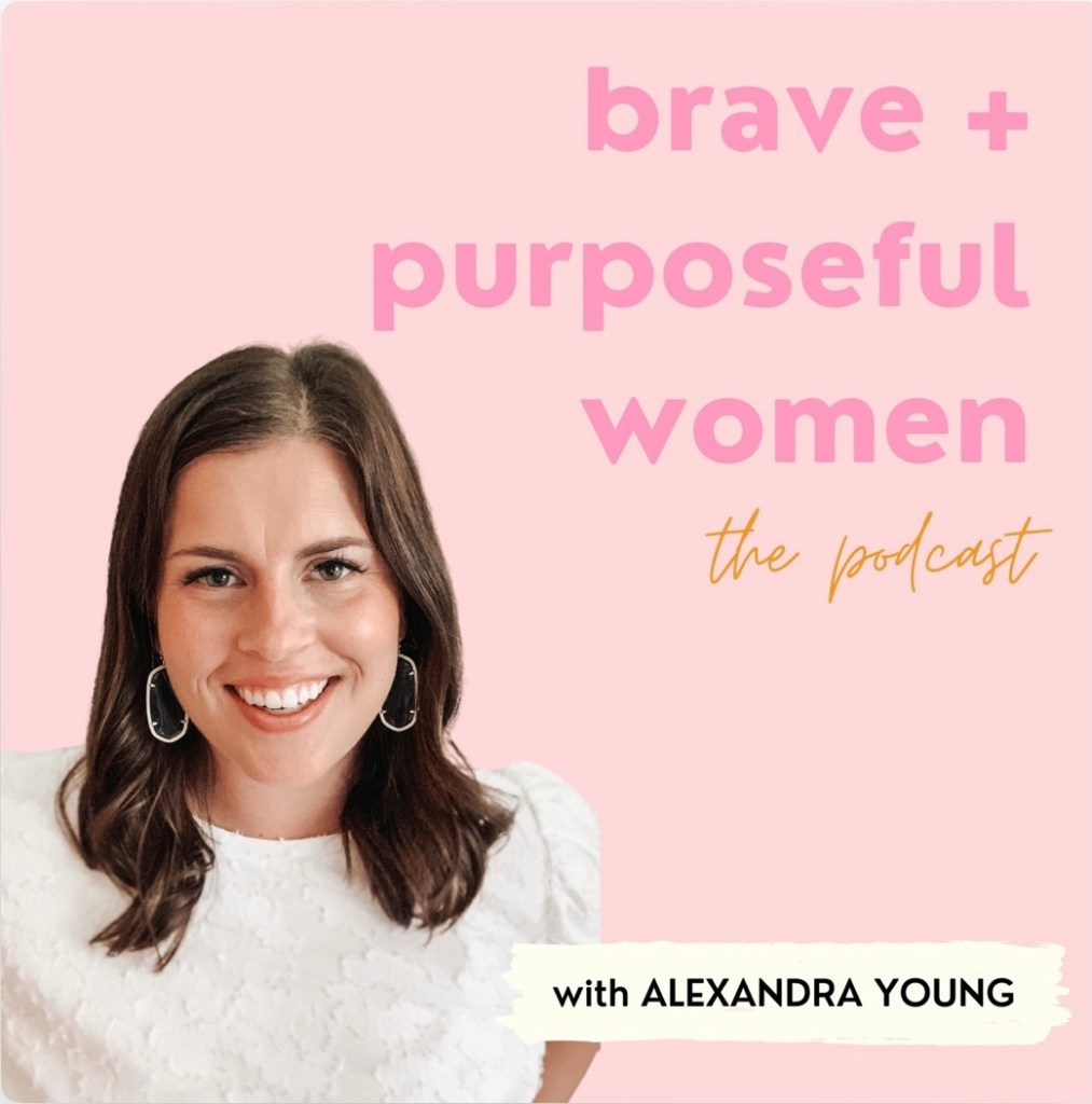 Brave and Purposeful Podcast Link Image