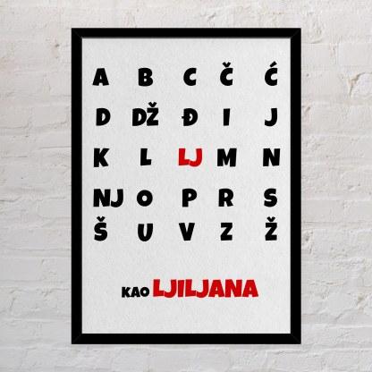 abeceda poklon za djecu