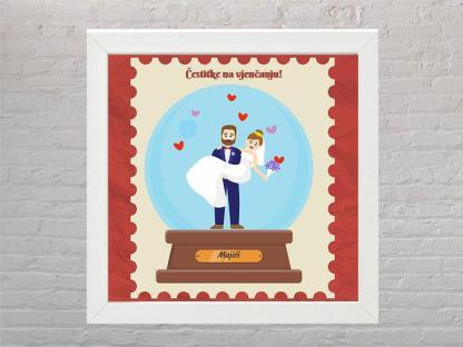 okvir cestitka za vjencanje