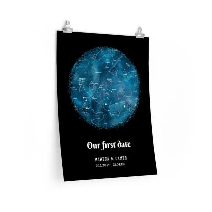 zvjezdana mapa poster