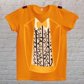 glup i gluplji majica narancasta