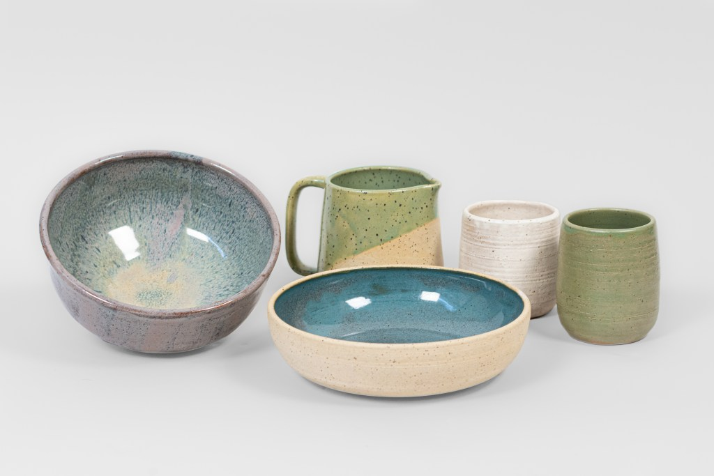 Moss Made ceramics product photography portland oregon local photography