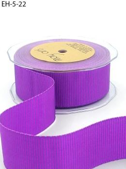 violet and pink two tone petersham grosgrain ribbon