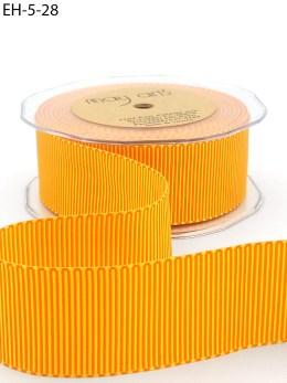 orange yellow two tone petersham grosgrain ribbon