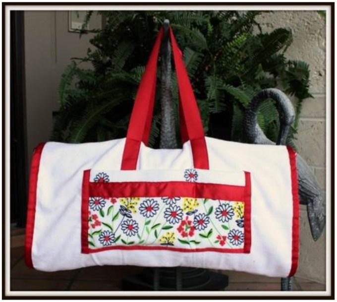 Make Your Own: Beach Bag Towel - Wholesale Ribbon - May Arts