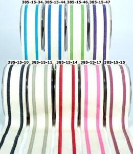 385   1.5″x20y  Cotton / Stripes 5