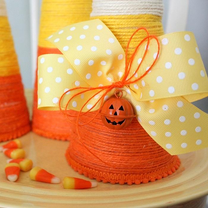 Candy Corn Halloween Decorations