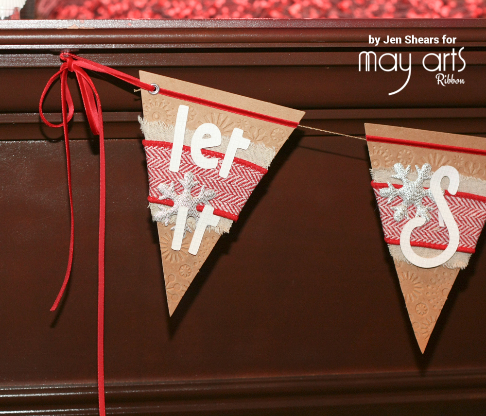 'Let it Snow' Christmas Banner