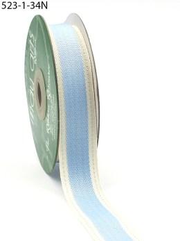 Light Blue Color Band Cotton Ribbon
