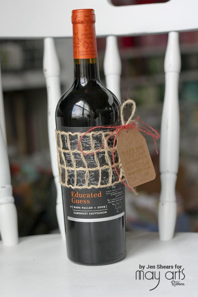 Wine Bottle Gift Wrap