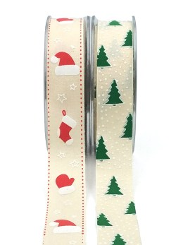 Christmas Linen Ribbons