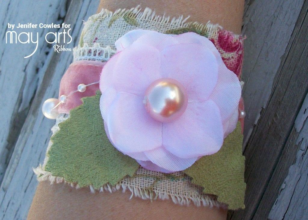 Make a Ribbon Cuff Bracelet