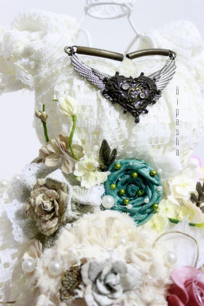Dress Form: Shabby Chic Wedding Gow