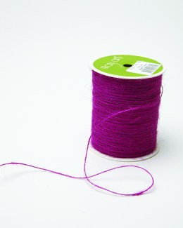 grape purple burlap string jute cord