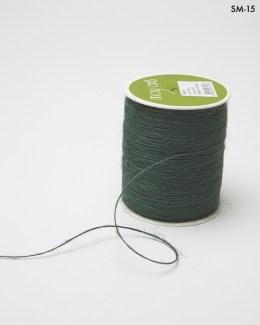 green burlap string jute cord