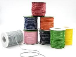 Diagonal Stripes Woven Ribbon
