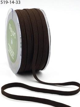 Brown Elastic Ribbon