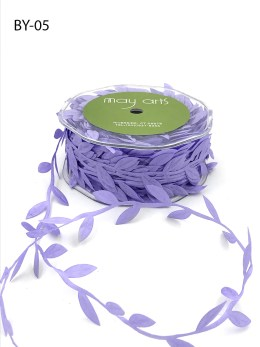 lavender purple leaf ribbon