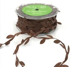 brown leaf ribbon