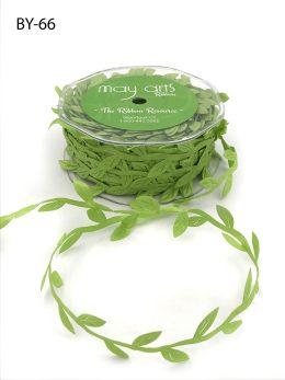 celery green leaves ribbon