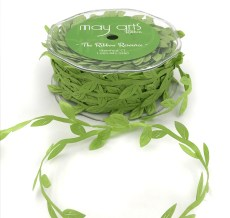 celery green leaves ribbon