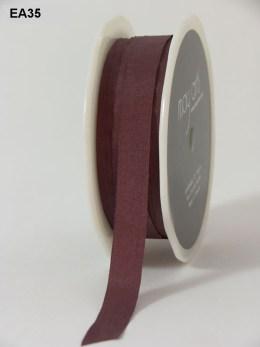 Plum Solid Wrinkle Ribbon