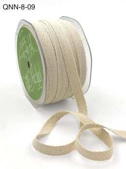 ivory natural twill cotton ribbon