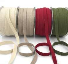 "3/8"" twill cotton ribbons"