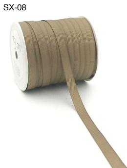 taupe brown grosgrain ribbon