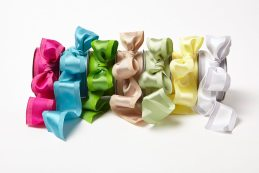 Solid Ribbon with Woven Center