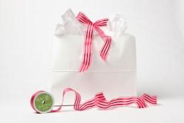 fuchsia ribbon store gift wrap