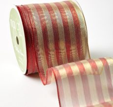 "2.5"" 400H-25-14 RED/GOLD METALLIC STRIPES"