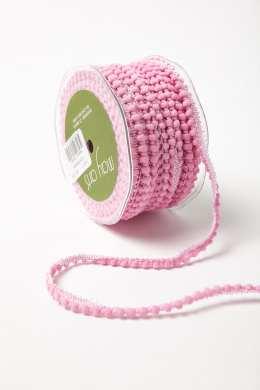Pink Mini Pom Pom Ribbon