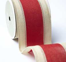 "2.5"" 530H-25-14 RED/IVORY CENTER BAND"