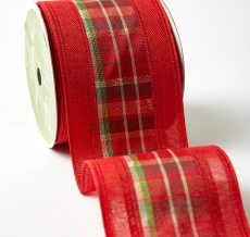 "2.5"" 569H-25-14 RED PLAID CENTER"