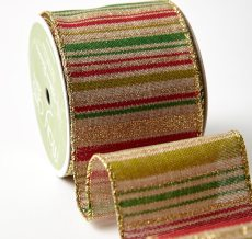 "2.5"" 576H-25-14 RED/GREEN/GOLD STRIPE"