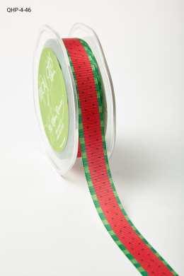 "QHP ¾"" x 25y  watermelon *4 colors Grosgrain w/ Print Ribbon"