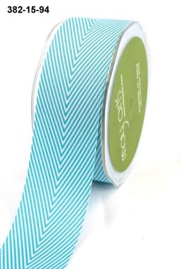 Variation #0 of 1.5 Inch Twill / Chevron Stripes Ribbon