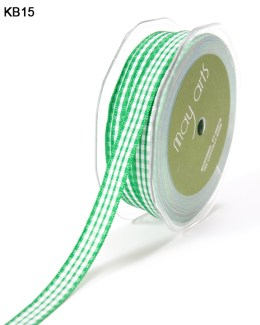 Variation #151023 of 3/8 Inch Solid Checkered Ribbon