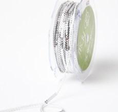 Silver 1/8 Inch Mini Sequin Single Strand Ribbon