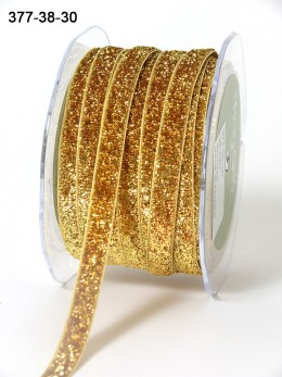 Variation #154517 of 3/8 Inch Metallic / Velvet Ribbon