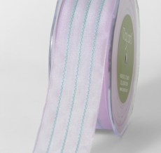 Variation #154551 of 1.5 Inch Solid / Center Stitches Ribbon